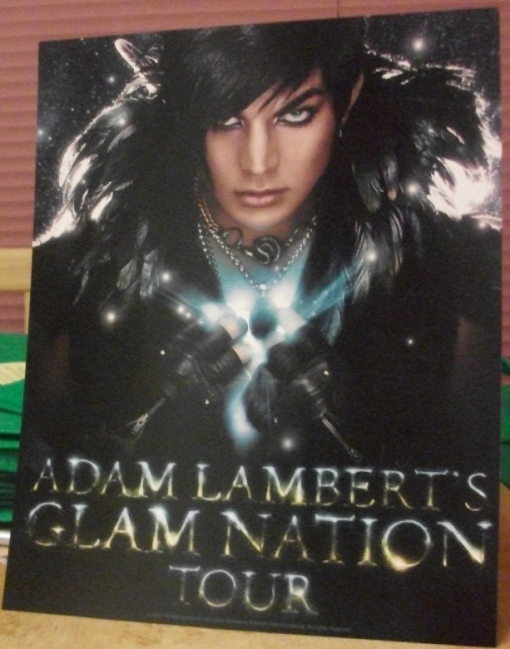 Adam swag from his concert in Houston