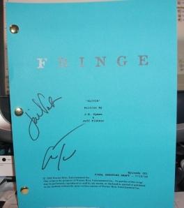 Signed Fringe script