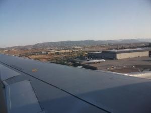 Landing in Phoenix