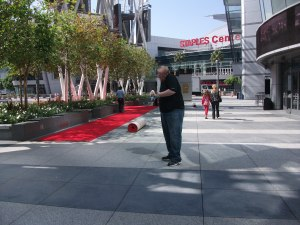 Progress on the red carpet
