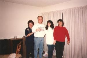 The picture was snapped and we knew that it likely wasn't a good picture (days before digital cameras existed).